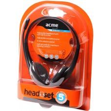 ACME ausinės su mikrofonu, HM-01