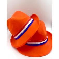 Oranžinė skrybėlė