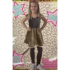 Vaikiškas kostiumas - leopardas