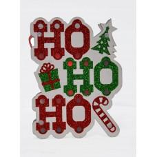 Kalėdinė dekoracija su spalvotu LED apšvietimu