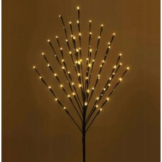 Dekoratyvinis medelis su LED lemputėmis