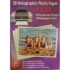 3D holografinis fotopopierius