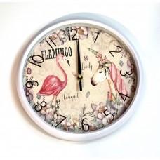 Apvalus sieninis laikrodis