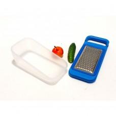 Virtuvinė tarka su plastikiniu indeliu
