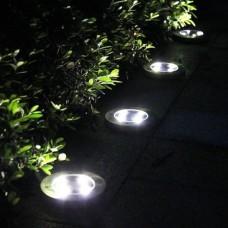 Saulės energijos įkraunamas LED šviestuvas
