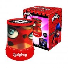 Naktinis šviestuvas - projektorius Miraculus Ladybug
