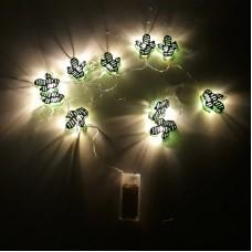 LED girlianda - kaktusai