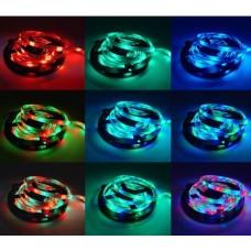 LED RGB juosta, 5 metrų