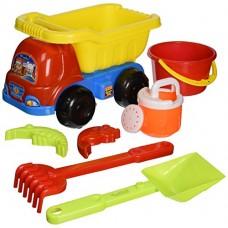 Smėlio žaislų rinkinys su sunkvežimiu