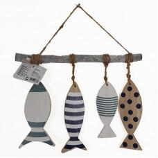 Pakabinama dekoracija - žuvytės