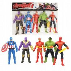 Avengers herojų figūrėlės